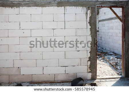 Jamb stock images royalty free images vectors shutterstock for Installing exterior door on concrete
