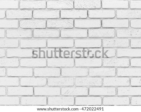White brick wall background (done in 3d rendering)