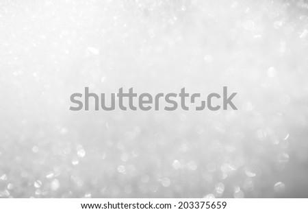 white bubble foam - stock photo