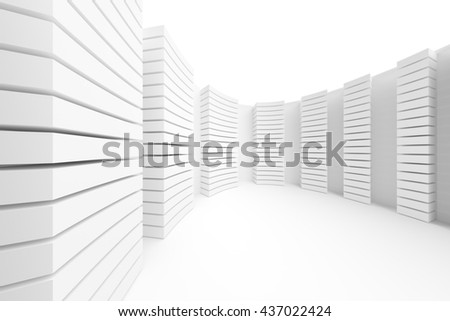 White Building Construction Abstract Architecture Background Stock ...