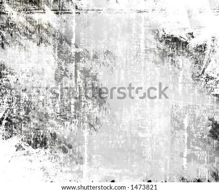White Burned Background - stock photo