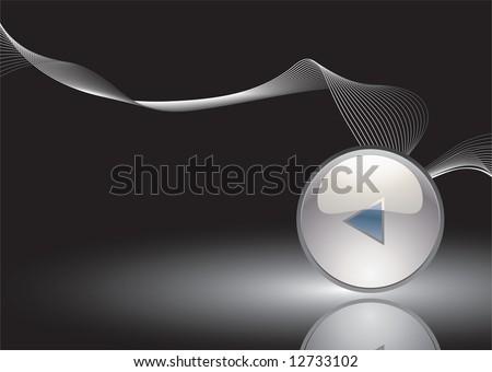 white button - stock photo