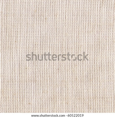 White canvas background. Big scan. - stock photo
