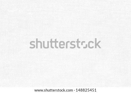White canvas background or texture  - stock photo