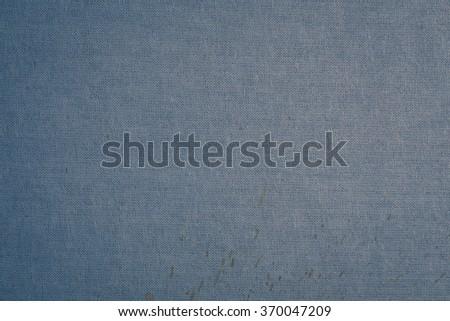 white canvas texture linen fabric grunge background - stock photo