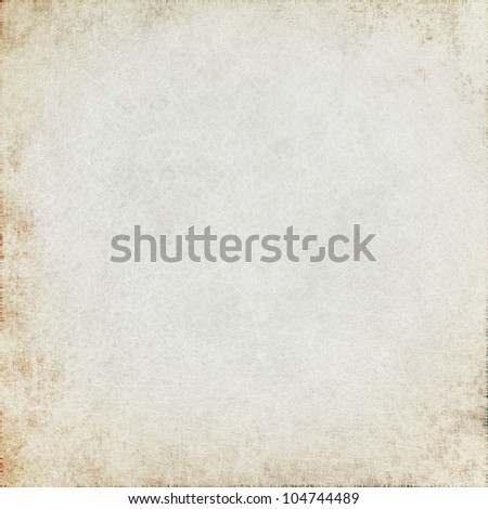 white canvas texture with delicate grid, may use as grunge background - stock photo