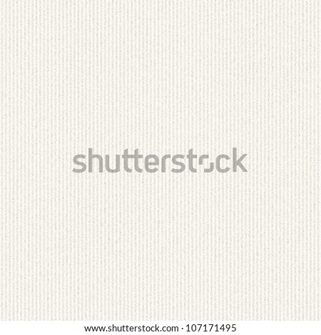 white canvas texture with delicate stripes pattern seamless background - stock photo