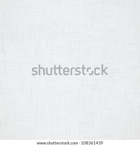 white canvas with delicate grid seamless pattern to use as grunge background or texture - stock photo