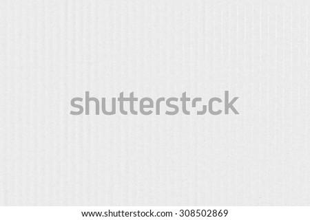 White Cardboard Texture - stock photo