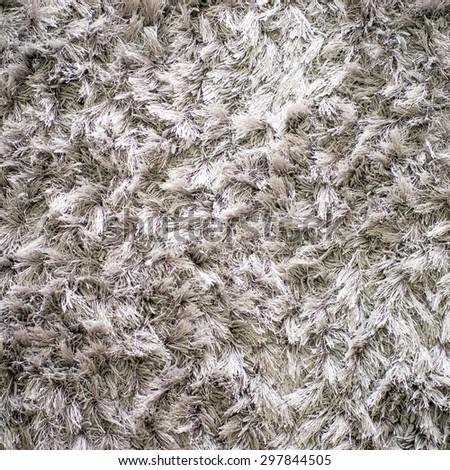 white carpet. Background. Textile texture. - stock photo