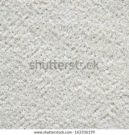 White carpet texture - stock photo