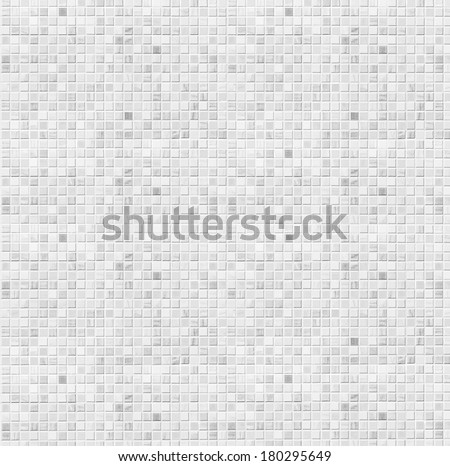 white ceramic tile bathroom wall background - stock photo