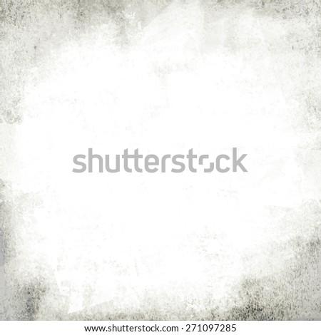 white chalk wall - stock photo