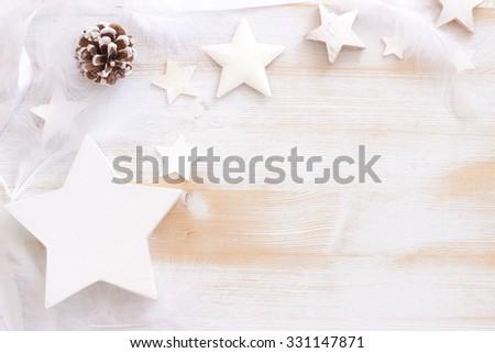 white Christmas - stock photo