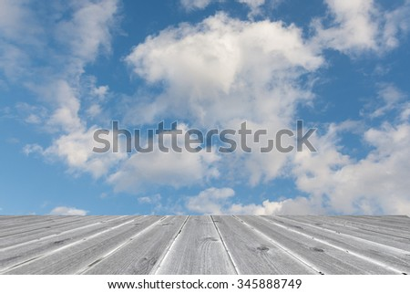 white cloud on blue sky sunny day