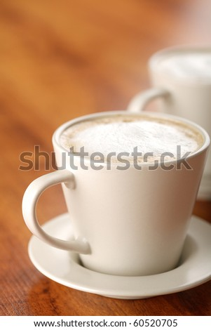 White Coffee - stock photo