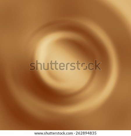 white coffee background, cream chocolate and milk swirl background - stock photo