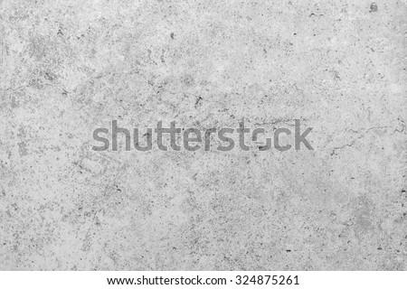 White concrete background cement textured - stock photo