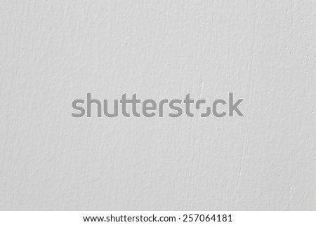 White concrete wall seamless background and texture - stock photo