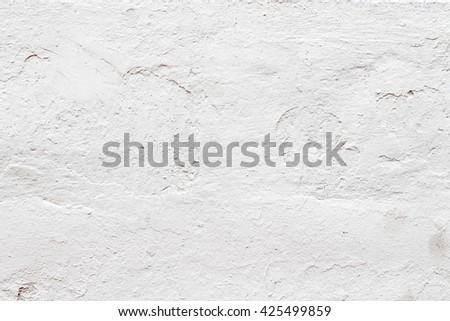 white concrete wall texture - stock photo