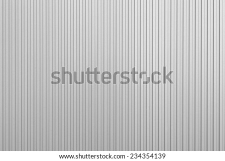 white Corrugated metal texture surface   - stock photo
