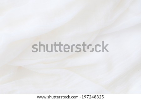 white cotton texture - stock photo
