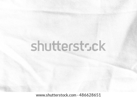 white crumpled paper texture or background