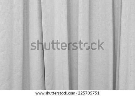 White curtain background - stock photo
