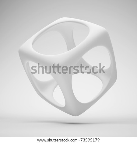 White Design Element - stock photo