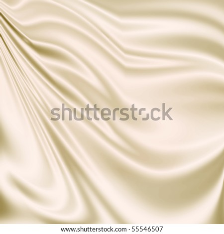 White drapery texture - stock photo