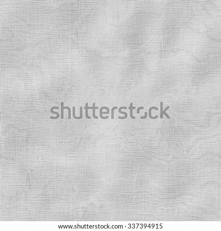 White empty canvas seamless texture for background - stock photo