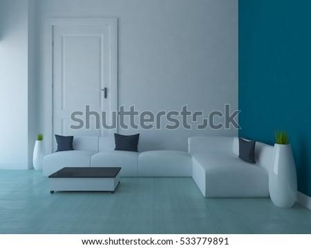 empty interior stock illustration 94178812 - shutterstock