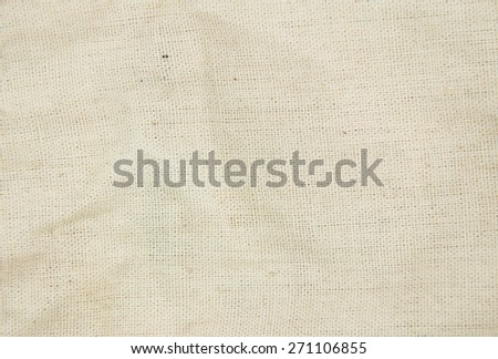 white fabric background. - stock photo