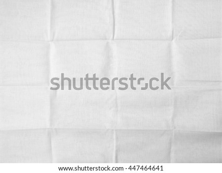 white fabric cloth fold texture