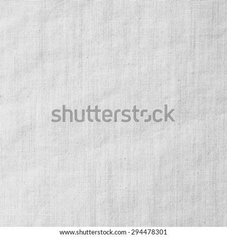 white fabric cloth texture - stock photo