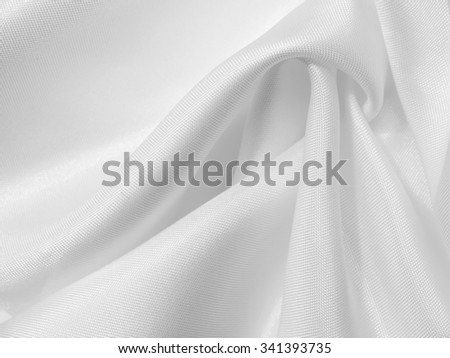 white fabric silk background