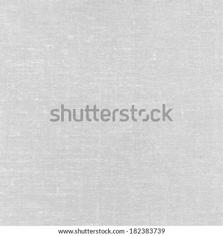 White fabric texture.  Abstract canvas background. - stock photo