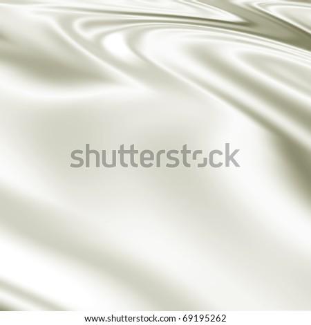 White fabric texture backdrop - stock photo