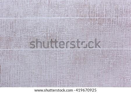 White fabric texture background  - stock photo