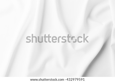 white fabric texture background, fabric be crumpled