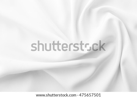 white fabric texture background ,wavy fabric