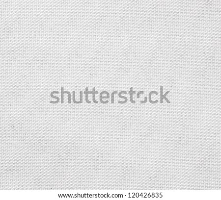 White fabric texture. Clothes background. Close up - stock photo