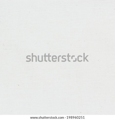 White fabric texture or background. - stock photo