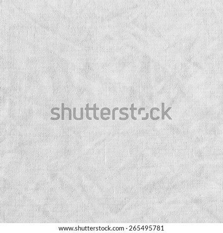 White fabric texture with delicate striped pattern. Cotton canvas background. - stock photo