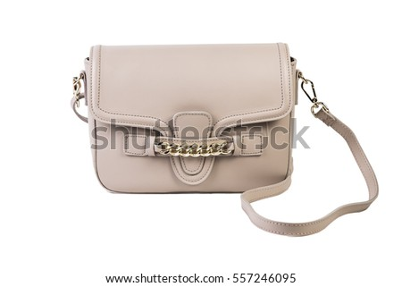 white female bag on a white background, online catalog