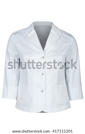 White female jacket