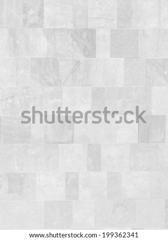white floor pavement - stock photo