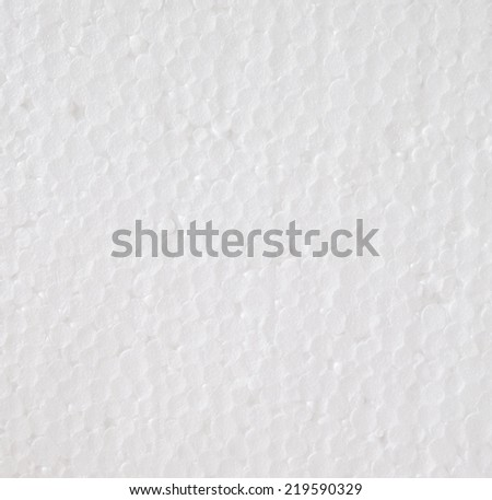 White foam board texture, background