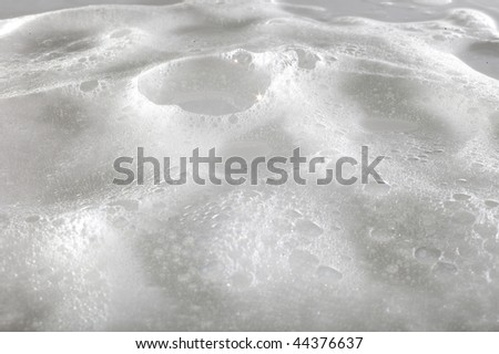 white foam surface - stock photo
