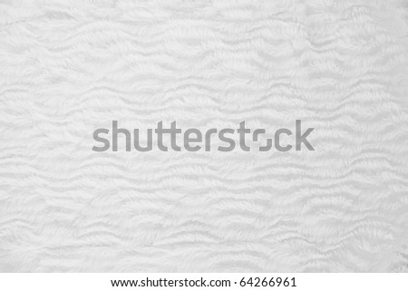 white fur pattern - stock photo